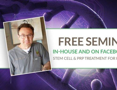 Free Zoom Seminar: Stem Cell and PRP Treatments for Hips and Knees